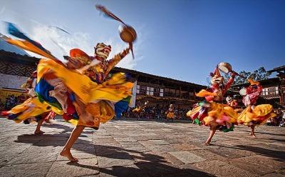 Mask Dance - image by Joseph Goh